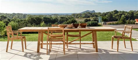 tavoli per terrazzi tavoli da giardino per esterno di design unopi 249