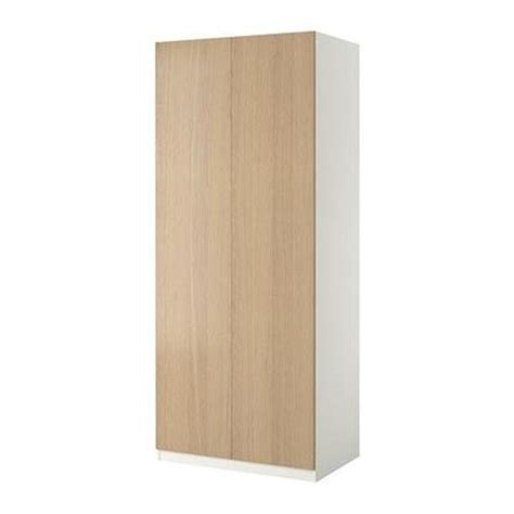 Pax 2 Door Wardrobe by Pax Wardrobe 2 Door Pax Nexus Oak Veneer Bleached
