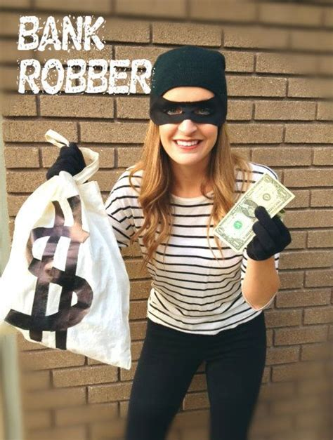 halloween themes for banks last minute costume ideas bank robber halloween