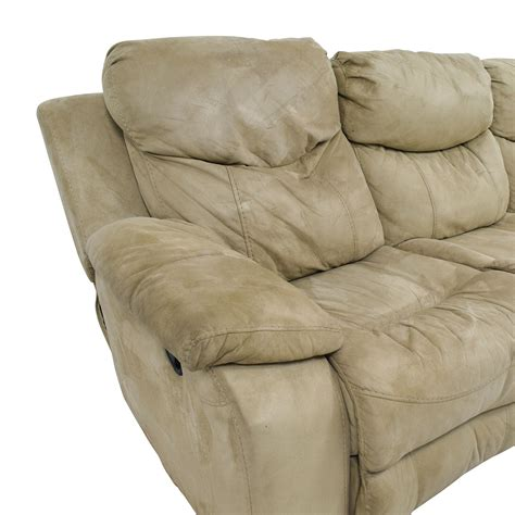 bobs recliners 90 off bob s furniture bob s furniture beige dual