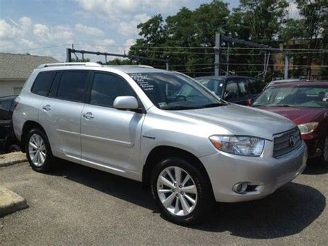 2008 Toyota Highlander Hybrid Mpg Buy Used 2008 Toyota Highlander Hybrid Limited Automatic 4