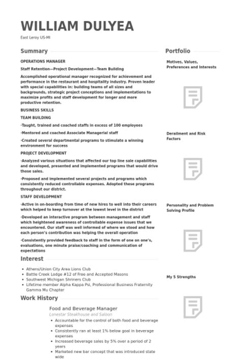 food expeditor resume botbuzz co