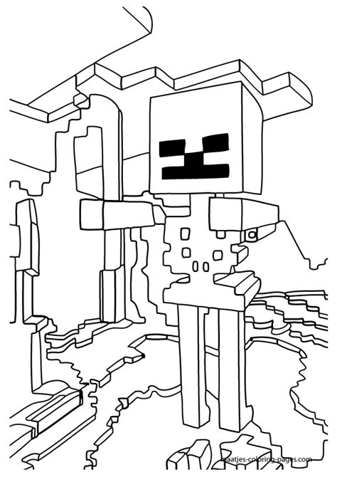 minecraft coloring pages cake ideas and designs