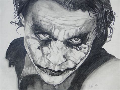 Drawing Joker by The Joker By Stephen Sookoo