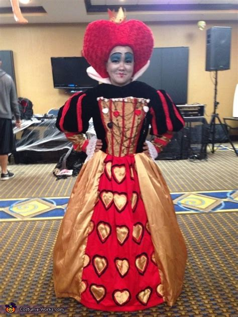 creative diy queen  hearts costume