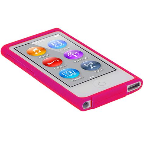 7 Inspired Gel Skins by Color Silicone Soft Rubber Gel Skin Cover For Ipod