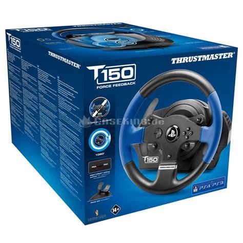 volanti thrustmaster thrustmaster t150 rs lenkrad f 252 r ps4 ps3 pc