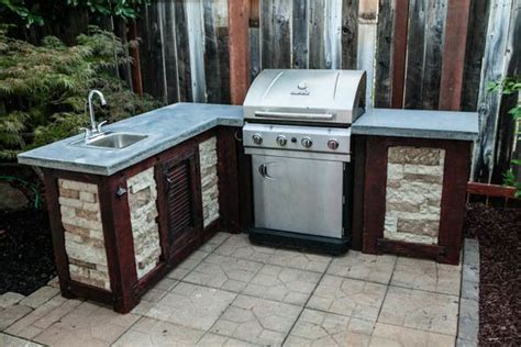 outdoor kitchen cabinets diy how to build your own outdoor kitchen for a fraction of