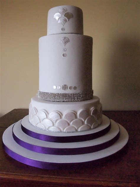 wedding tier cake gatsby inspired 3 tier wedding cake cakecentral