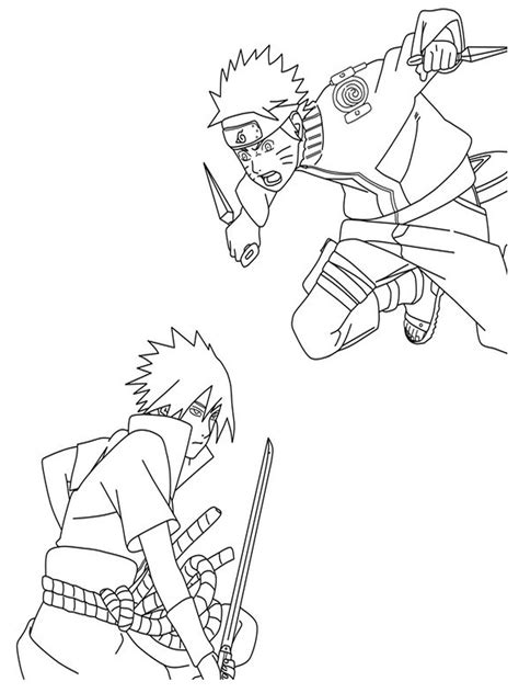 naruto coloring pages pdf naruto coloring pages pdf coloring home