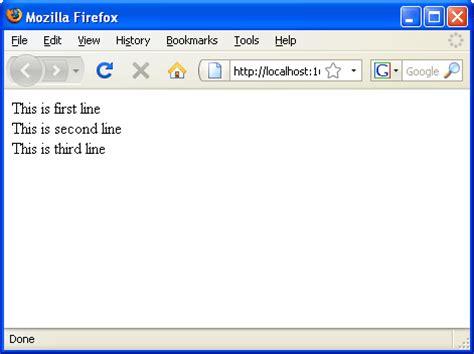 html format line break image gallery line break