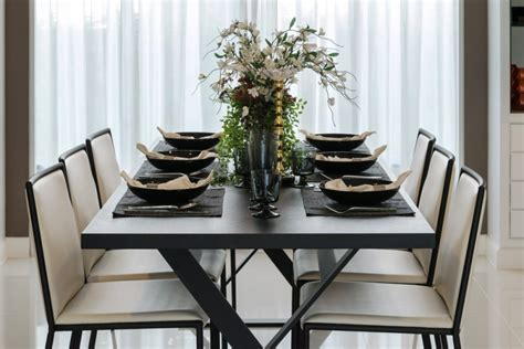 modern dining table setting ideas