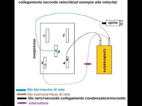 Motore Lavatrice Funzionamento by Cablaggio E Funzionamento Di Un Motore Ad Induzione Da