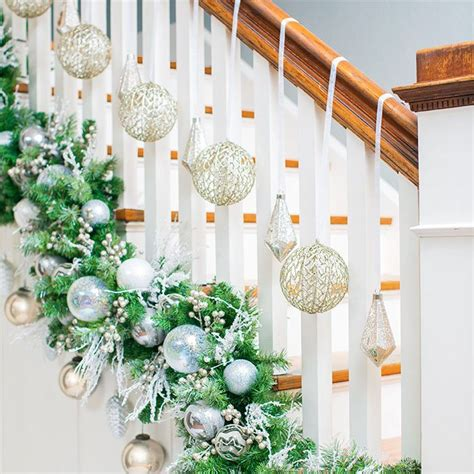 christmas banister garland scintillating christmas garland decoration ideas