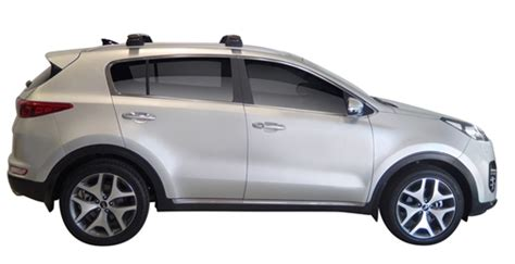 Kia Sportage Roof Rack Roof Racks For Kia Sportage 2016 Glass Roof 5 Door Suv