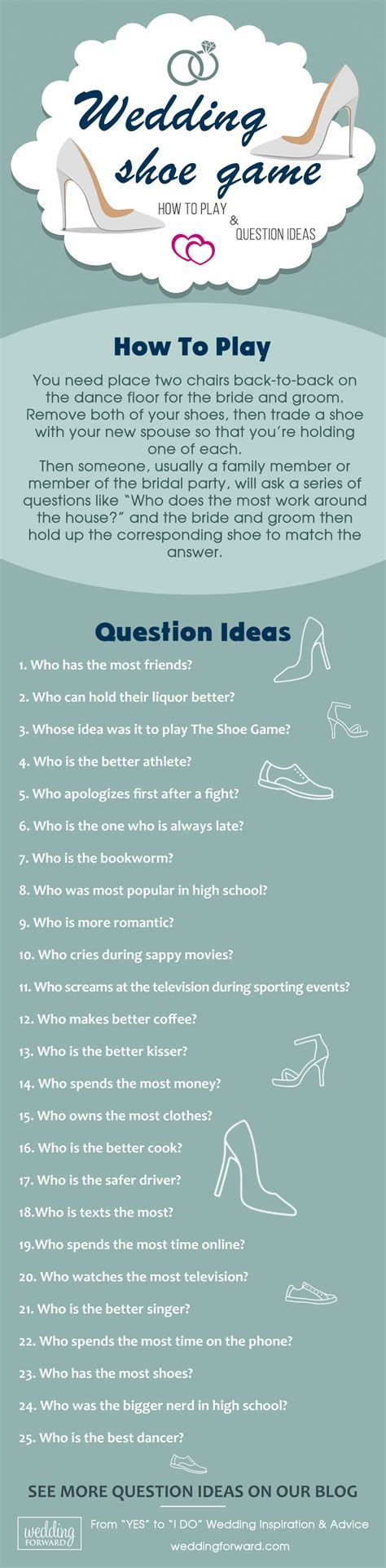 The Shoe Game ? How To Play and Question Ideas