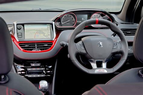 peugeot 208 gti inside peugeot 208 gti uk car of the year awards