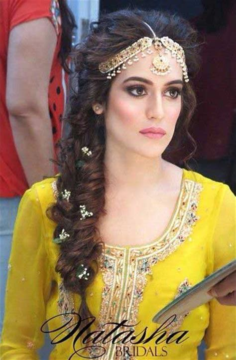 hairstyle design pakistani pakistani mehndi hairstyles for bridals in 2018 fashioneven
