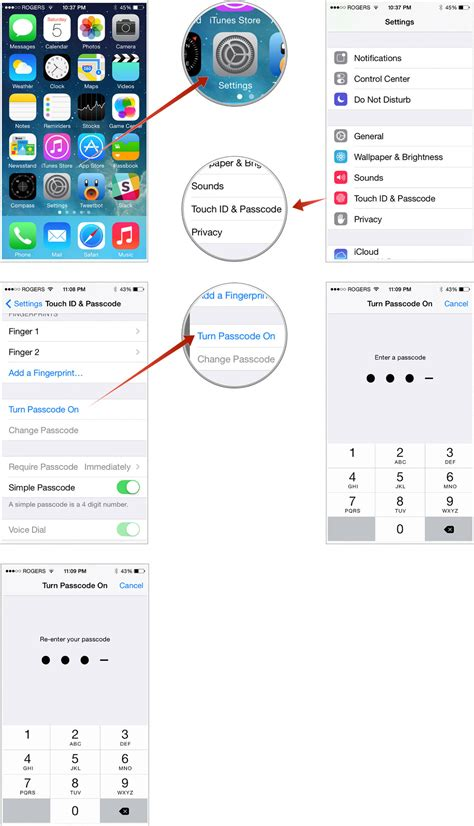 how to secure your iphone or with a 4 digit passcode imore
