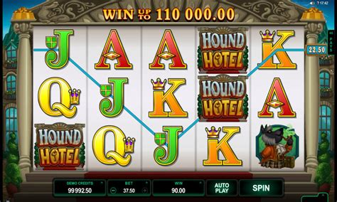 hound hotel hound hotel pokie by microgaming