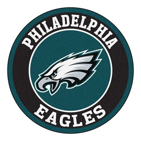 Philadelphia Eagles Rugs by Philadelphia Eagles Logo Roundel Mat 27 Quot Area Rug