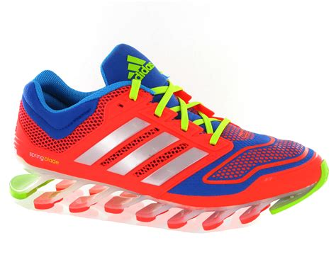 adidas springblade mens running shoes new mens adidas springblade drive techfit orange running
