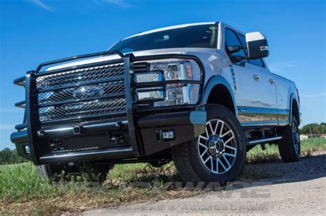 ford heavy duty truckware bumpers and accessories for outlaw premium front replacement f250 f550