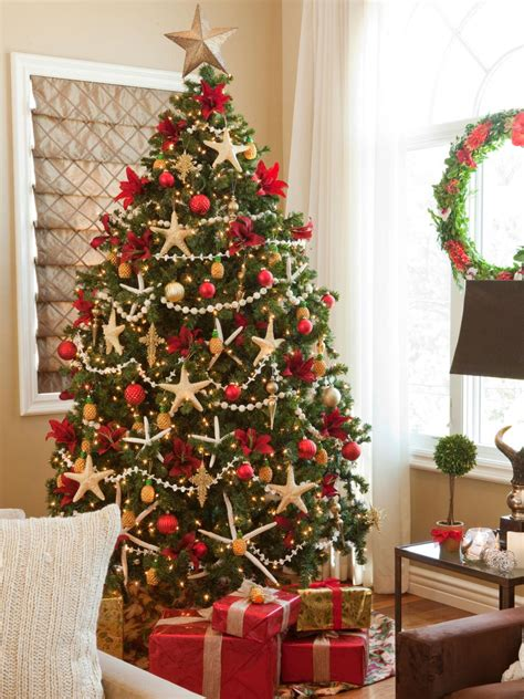 Christmas Decorating Themes christmas tree themes hgtv