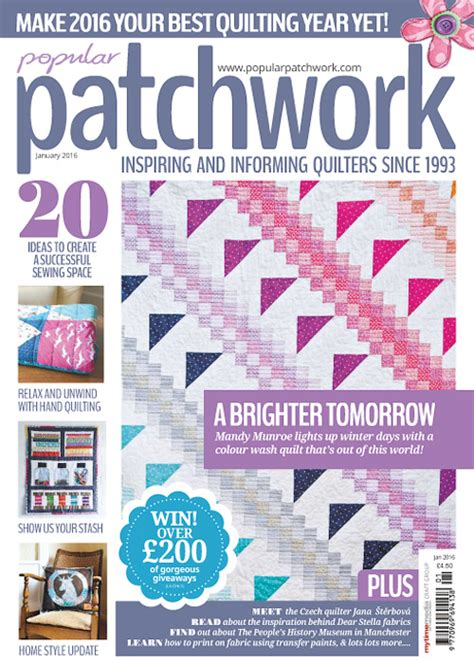 Patchwork Magazines Uk - patchwork quilting january 2016 187 free pdf magazines
