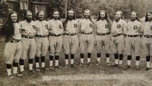 house of david baseball team 1930 photo postcard ebay