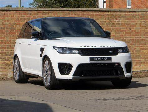 land rover svr white 2015 15 range rover sport 5 0 svr fuji white yes