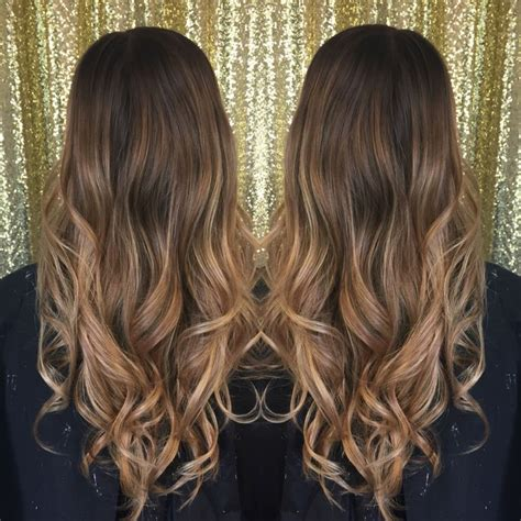 ombre color for brunettes long hair balayage hair for brunettes