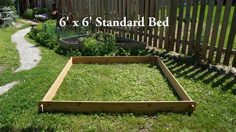 Raised Garden Bed Planter Flower Cedar Box Vegetable Kit Raised Vegetable Garden Beds Kits