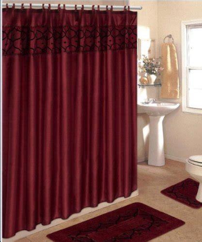 4 bathroom rug set 4 bathroom rug set 3 burgundy flocking bath rugs with fabric shower curtain and