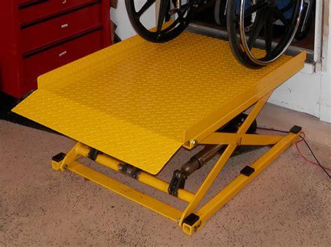 Wheel Chair Lifts by Startracks Home Wheelchair Platform Lift Home Standing Lift