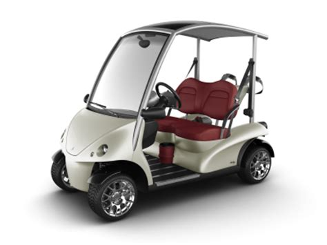 Auto Golf Cart by Home Garia Luxury Golf Car
