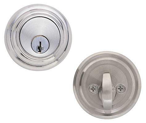 door deadbolt emtek low profile brass deadbolt door lock shop security