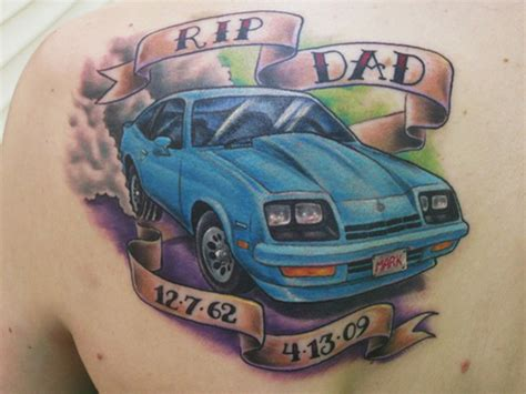car tattoos 15 cool and classic car designs with meanings