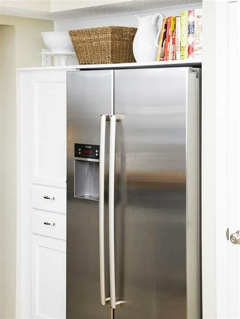 Top Of Fridge Storage | 15 ways to use open storage to organize your home