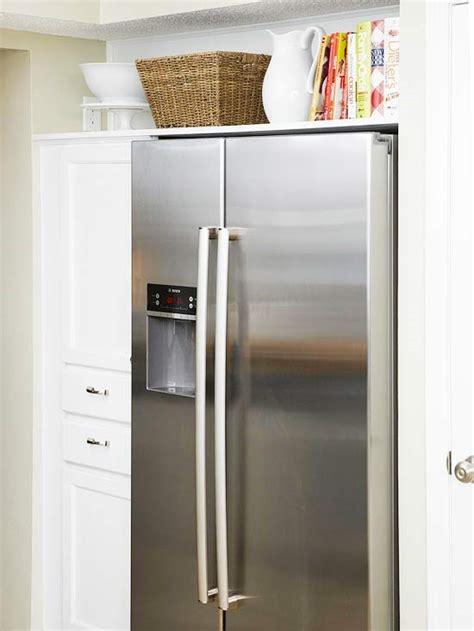 top of fridge storage 15 ways to use open storage to organize your home