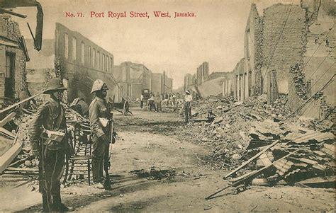 port royal jamaica history port royal west jamaica jamaican earthquake 1