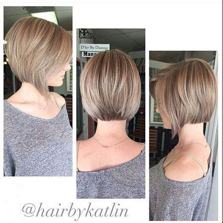 chin length haircut diy chin length brunette highlighted bob haircut with back