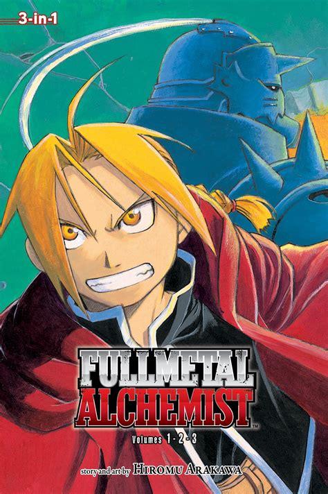 fullmetal alchemist 3 in 1 edition vol 1 book by
