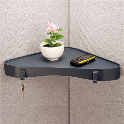 Office Cubicle Accessories Shelf by Cubicle Accessories Verticalmate Cubicle Corner Shelf