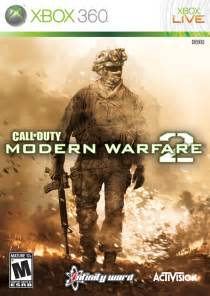 call of duty modern warfare 2 xbox 360 game