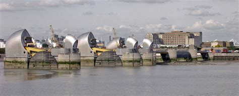 Thames Barrier Lifting | project management 166 166 monitran