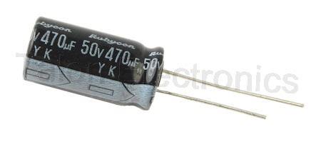 470uf 50v electrolytic capacitor 470uf 50v radial electrolytic capacitor