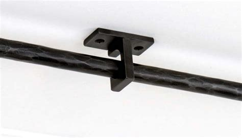 Ceiling Curtain Brackets by Ceiling Curtain Rod Brackets Furniture Ideas
