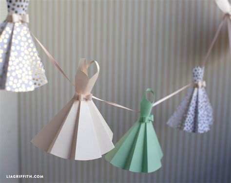 How To Make A Dress From Paper - paper dress diy wedding decorations lia griffith