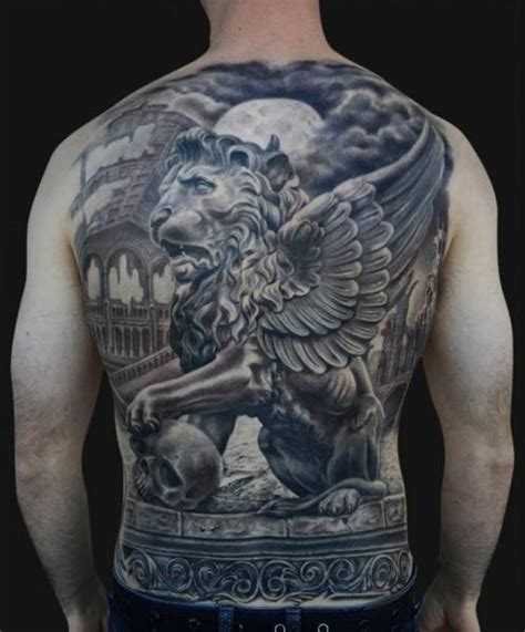 lion statue tattoo statue gallery